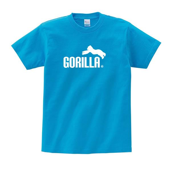 ゴリラ tシャツ グッズ 雑貨 オリジナル 服 メンズ レディース S M L XL 3L 4L プリント かっこいい 可愛い おもしろ おしゃれ かわいい ギフト