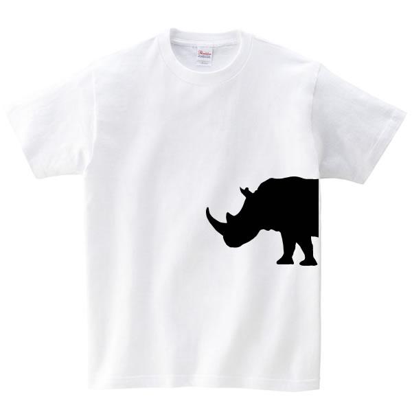 サイ tシャツ グッズ 動物  雑貨 オリジナル メンズ レディース 服 S M L XL 3L 4L プリント かっこいい ワイルド 可愛い おもしろ おしゃれ かわいい ギフト