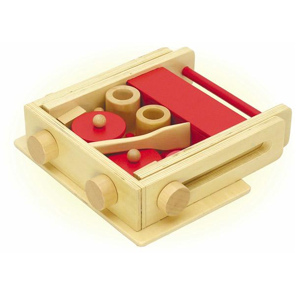 木製 おもちゃ 玩具 おままごと なかよしキッチンセット 【おもちゃ_ゲーム_ブロック】