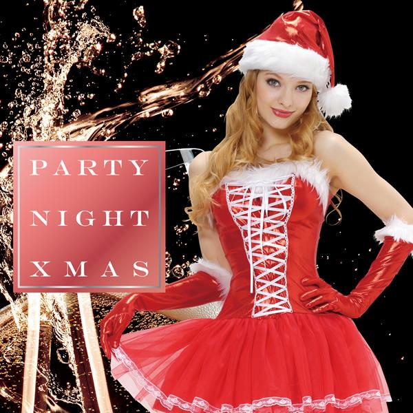 サンタ コスプレ 衣装 サンタコス セクシー シャイニーレースアップサンタ クリパ 通販 セクシー サンタクロース