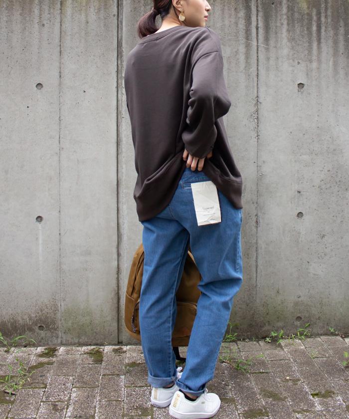 【ALL ORDINARIES オールオーディナリーズ】 ストレッチ デニム テーパード パンツ