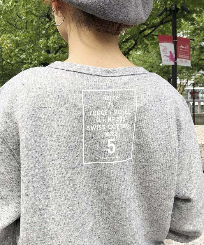 【ALL ORDINARIES オールオーディナリーズ】 France74 クルーネック スウェット