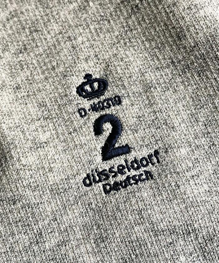 【ALL ORDINARIES オールオーディナリーズ】 王冠刺繍 プルオーバー スウェットパーカー