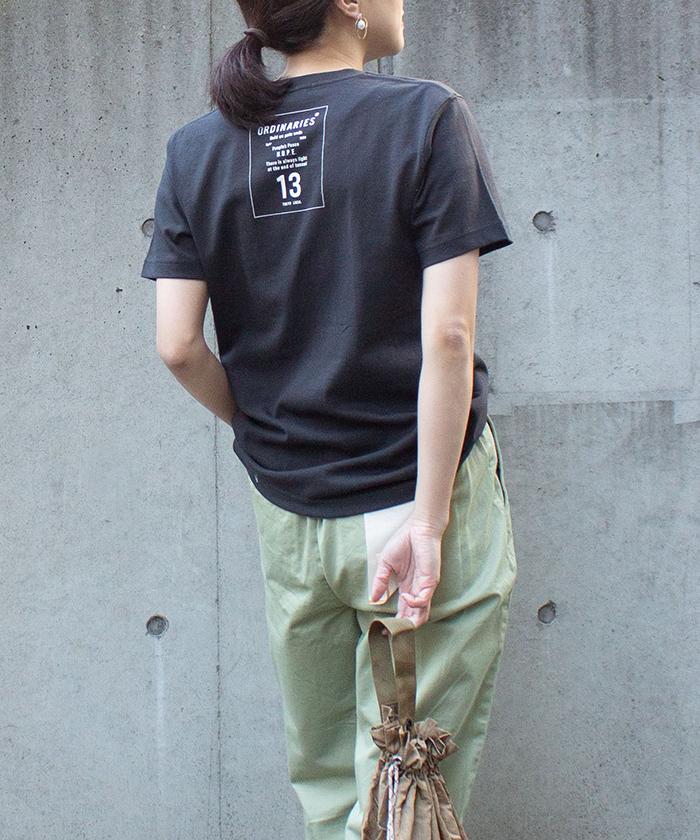 【ALL ORDINARIES オールオーディナリーズ】 ORDS13 半袖 ロゴ Tシャツ