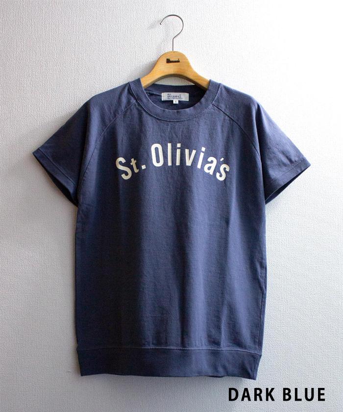 【ALL ORDINARIES オールオーディナリーズ】 別注 反応染 Olivia ラグラン Tシャツ