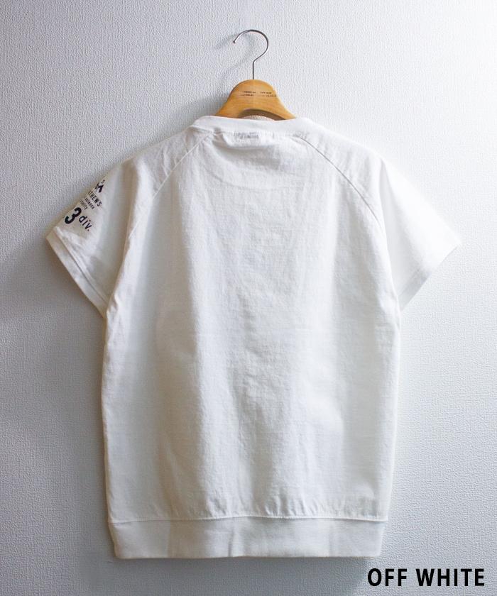 【ALL ORDINARIES オールオーディナリーズ】 別注 反応染 St.MATHEW'S ラグラン Tシャツ
