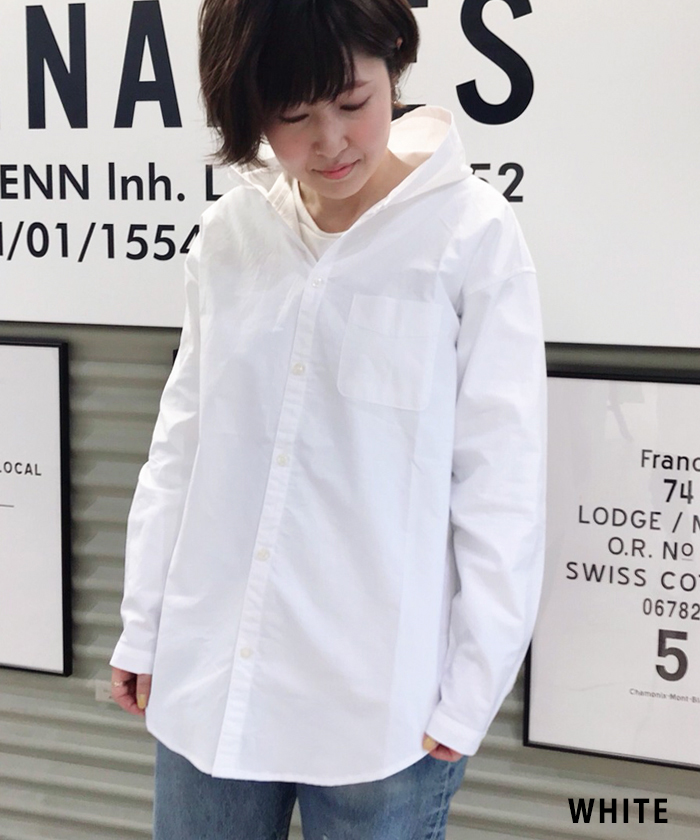 【ALL ORDINARIES オールオーディナリーズ】 フード シャツ