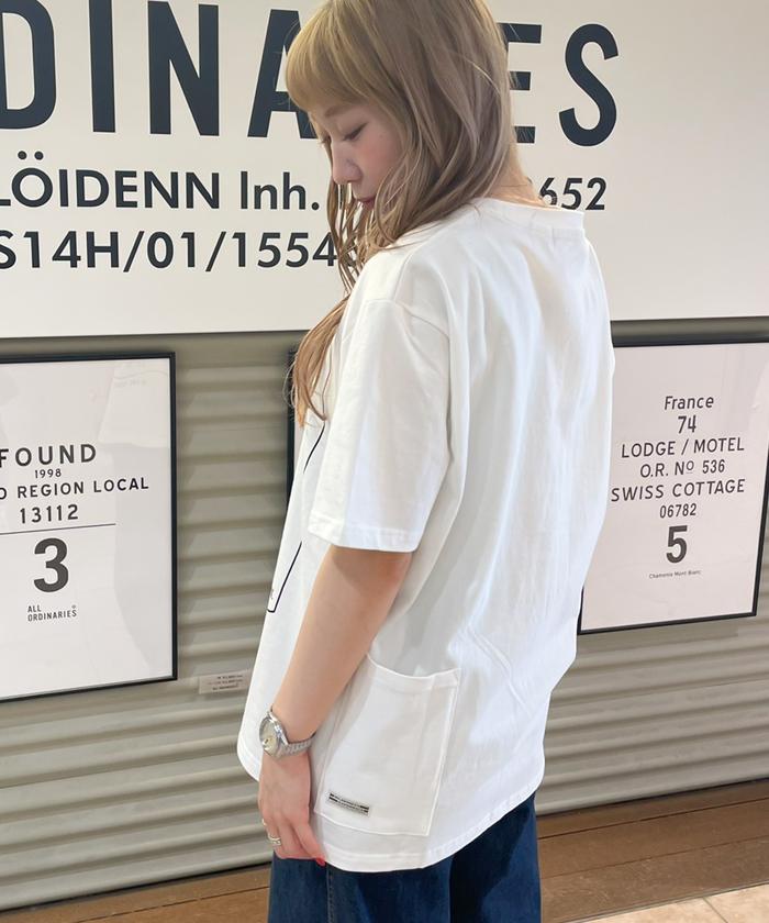 【WILDERNESS EXPERIENCE ウィルダネスエクスペリエンス】 ランタン プリント 半袖 Tシャツ