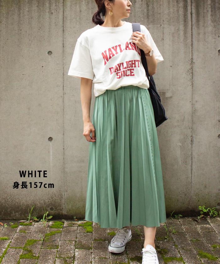 【Hunch ハンチ】NAYLAND ロゴ 半袖 Tシャツ
