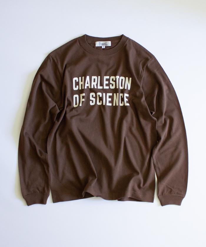 【ALL ORDINARIES オールオーディナリーズ】 CHARLESTON ロゴ 長袖 Tシャツ