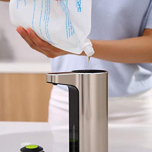 送料無料 EKO JAPAN アロマ ソープディスペンサー 泡ソープタイプ 液体洗剤 自動ディスペンサー ハンドソープ 洗剤 詰め替え キッチン 洗面所 USB充電式 EK6088F
