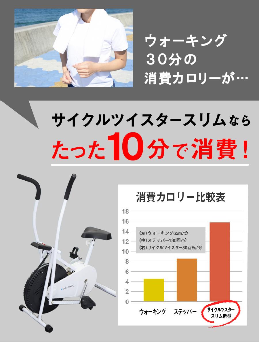 【公式】サイクルツイスタースリム 新型 最新版 全身運動 フィットネスバイク エアロバイク スピンバイク ダイエット器具 ダイエット トレーニング エクササイズ 静音 筑波大学 共同開発 送料無料 wt550