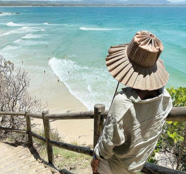 【正規品】Lorna Murray Apparel ローナ マーレイ 帽子 麦わら帽子 ストローハット mom Luxe Capri Hat リュクス カプリ ハット M 大人 折り畳み ハンドメイド Instagram インスタグラム SNS