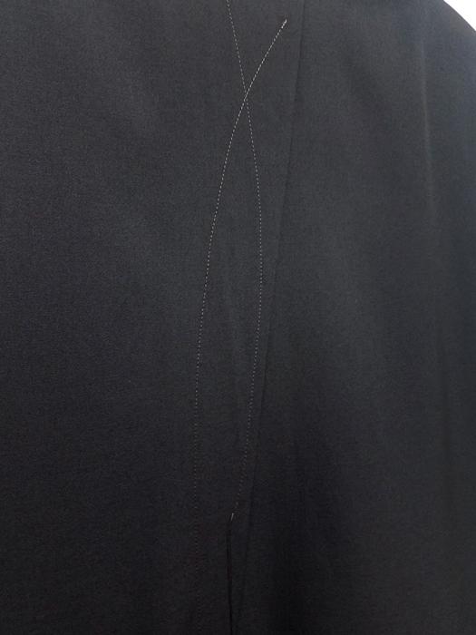 sulvam サルバム ロングジャケット ブラック long JKT SK-J02-100 /コート