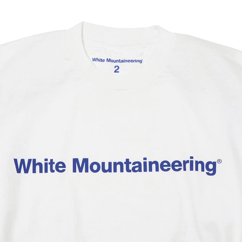 White Mountaineering Repose Wear ホワイトマウンテニアリング WM LOGO PRINTED LONG SLEEVES T-SHIRT ロゴプリント 長袖Tシャツ ホワイト RW2171503