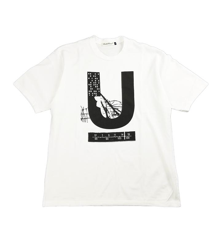 UNDERCOVER アンダーカバー TEE U  ホワイト UC1A3816