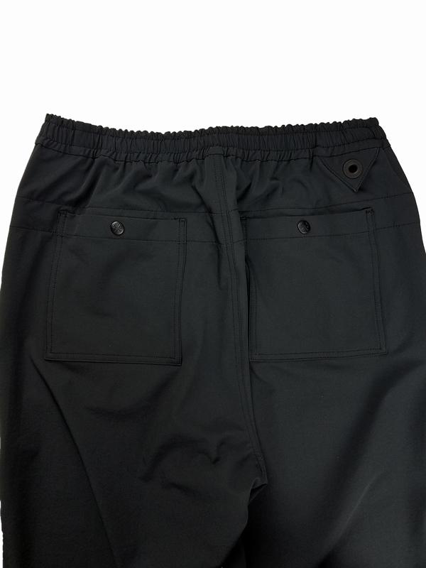 White Mountaineering Repose Wear ホワイトマウンテニアリング TAPERED PANTS テーパードパンツ ブラック RW2171402