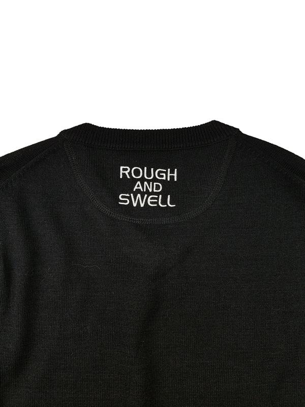 rough&swell ラフアンドスウェル GALAXY V-NECK ニット ネイビー RSM-21271 / ゴルフウェア メンズ ラフ&スウェル