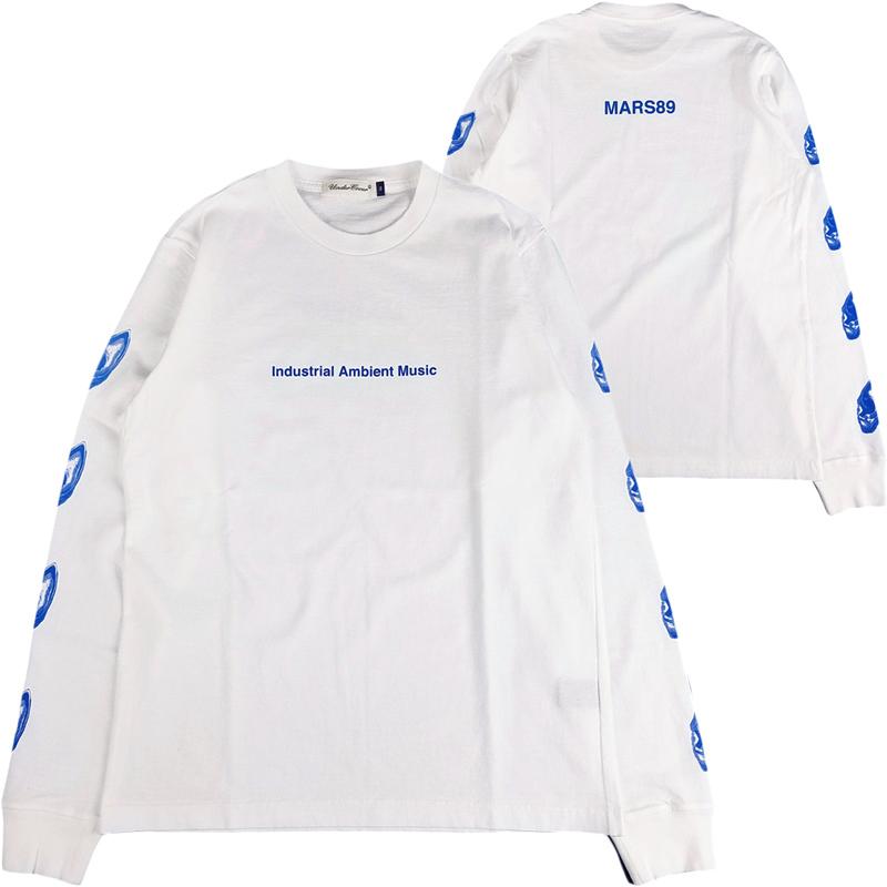 UNDERCOVER アンダーカバー LSTEE Industrial A MARS89 長袖Tシャツ ホワイト UCX4891-1 / ロンT