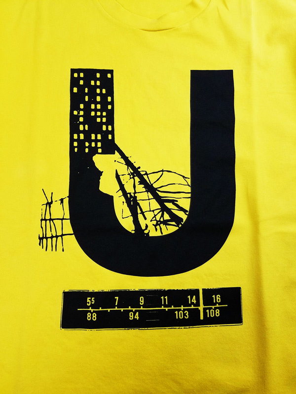UNDERCOVER アンダーカバー TEE U  イエロー UC1A3816