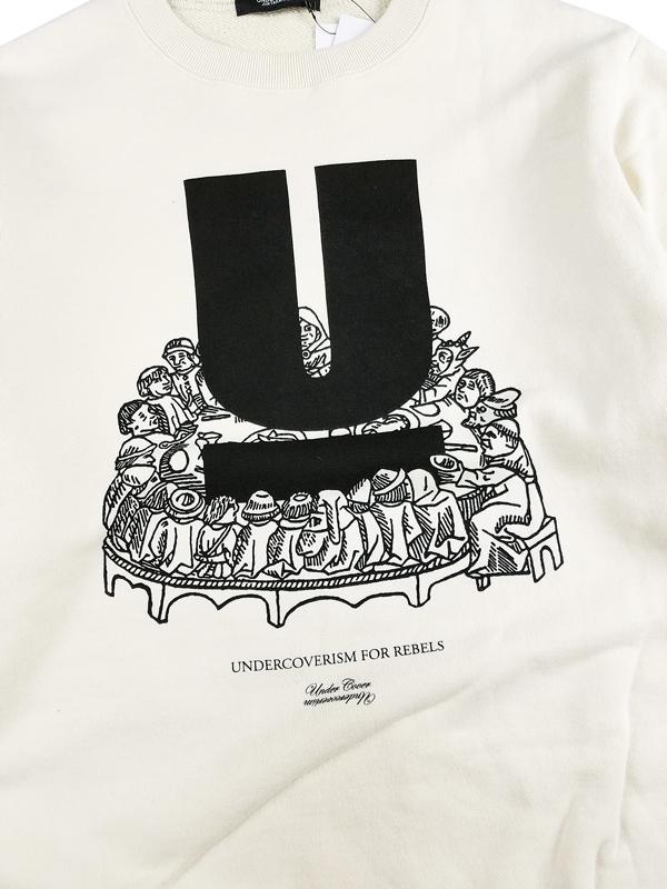 UNDERCOVER アンダーカバー SWEAT UD アイボリー UC2A4893-4