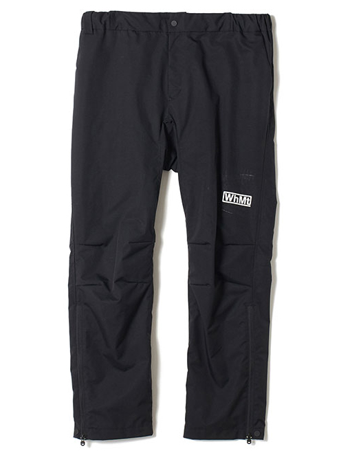 White Mountaineering ホワイトマウンテニアリング イージーワイドパンツ ブラック EASY WIDE PANTS WM1973425