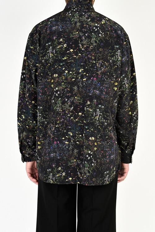 LAD MUSICIAN ラッドミュージシャン BIG SHIRT ビッグシャツ ブラック 2121-143