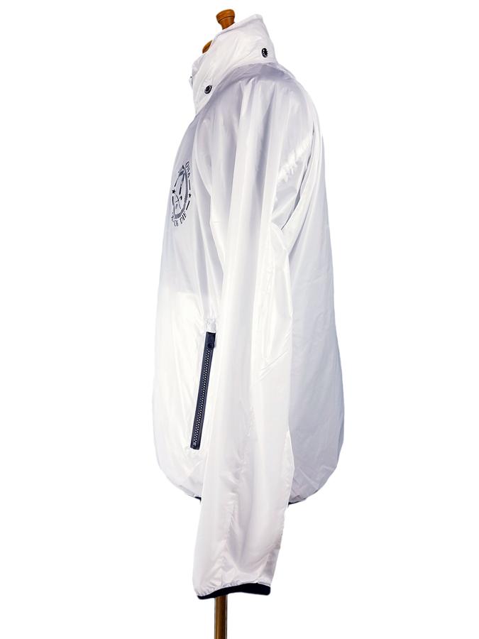 【木村拓哉さん着用モデル】MARK&LONA マークアンドロナ Session Zip Jacket | MEN スタンドブルゾン ホワイト MLM-0C-AD01