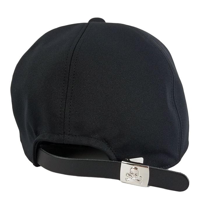 mastermind JAPAN マスターマインドジャパン キャップ ポリエステルジャージ 刺繍 ブラック MJ20E05-CA005-608