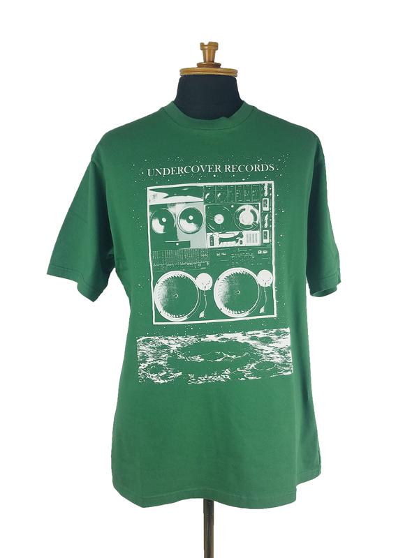 UNDERCOVER アンダーカバー TEE MOON UC RECORDS  グリーン UC1A3803