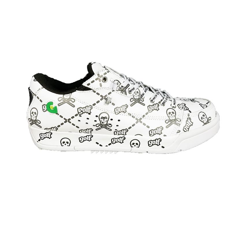 【木村拓哉さん着用モデル】MARK&LONA マークアンドロナ Tarmac Ruler Low Spikeless golf shoes | MEN シューズ ホワイト MLS-0D-SS12