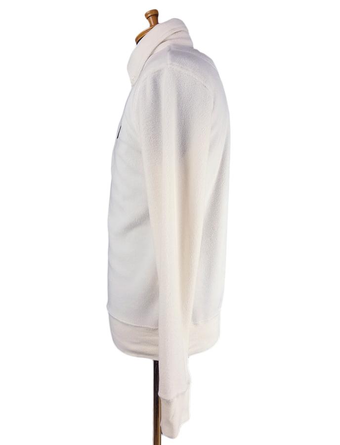 rough&swell ラフアンドスウェル プルオーバーシャツ マイクロフリース アイボリー HOFFMAN SHIRT RSM-19202 / ラフ&スウェル ゴルフウェア メンズ