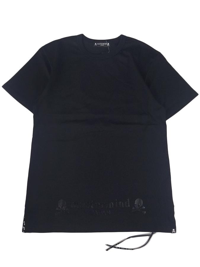 mastermind JAPAN マスターマインドジャパン Tシャツ 天竺 レギュラーフィット 本漆プリント ブラック MJ20E04-TS106-018