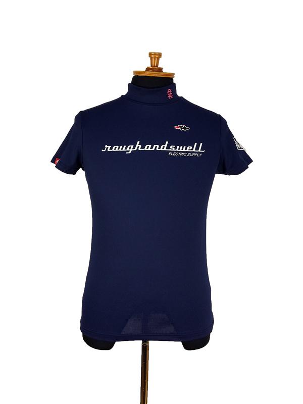 【WOMEN】 rough&swell for WOMEN ラフアンドスウェル ウィメン ERECTRIC MOCK W. ポロシャツ ネイビー RSL-21015 / ゴルフウェア レディース ラフ&スウェル