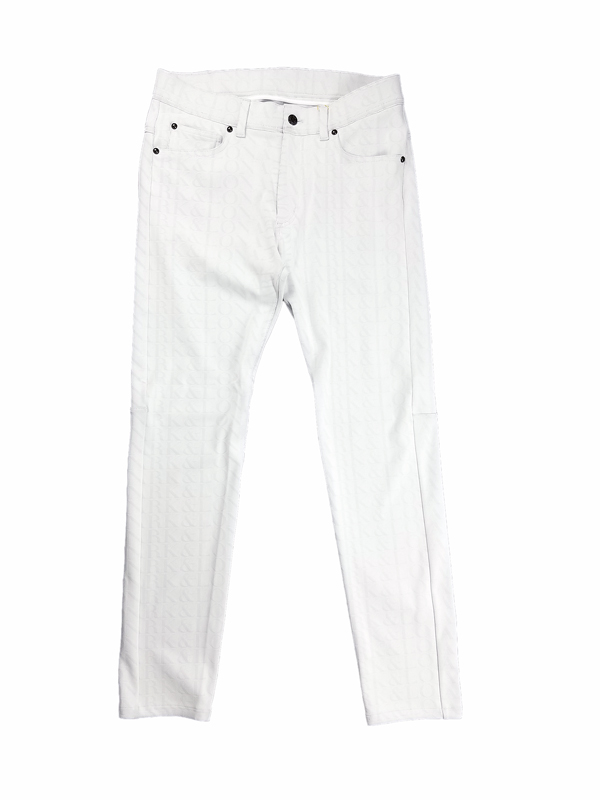 【木村拓哉さん着用モデル】MARK&LONA マークアンドロナ Ripple Jersey Basic Pants   MEN  ジャージーパンツ ホワイト MLM-1C-AT04