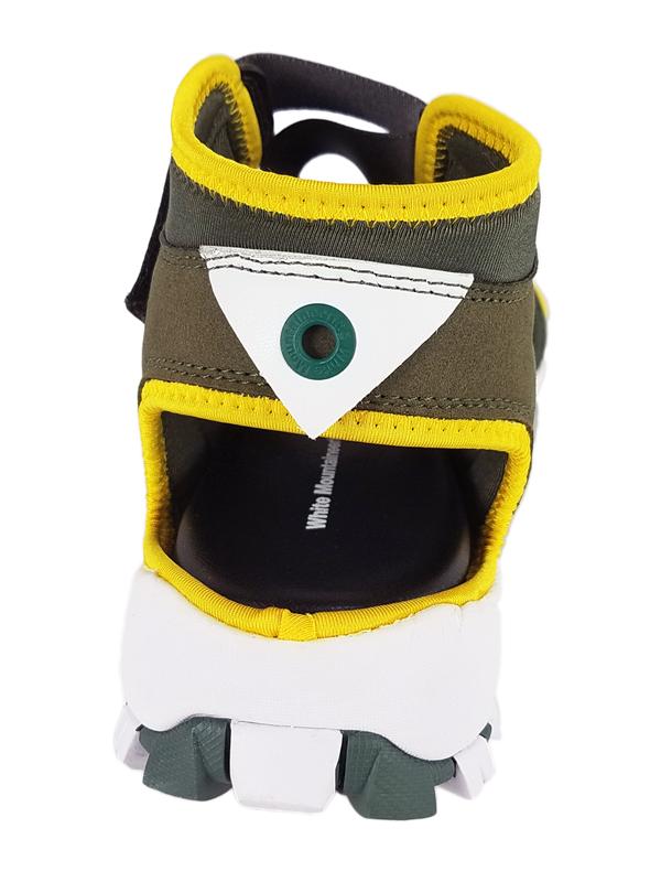 White Mountaineering ホワイトマウンテニアリング VIBRAM SOLE CONTRASTED SANDAL サンダル カーキ WM2071811