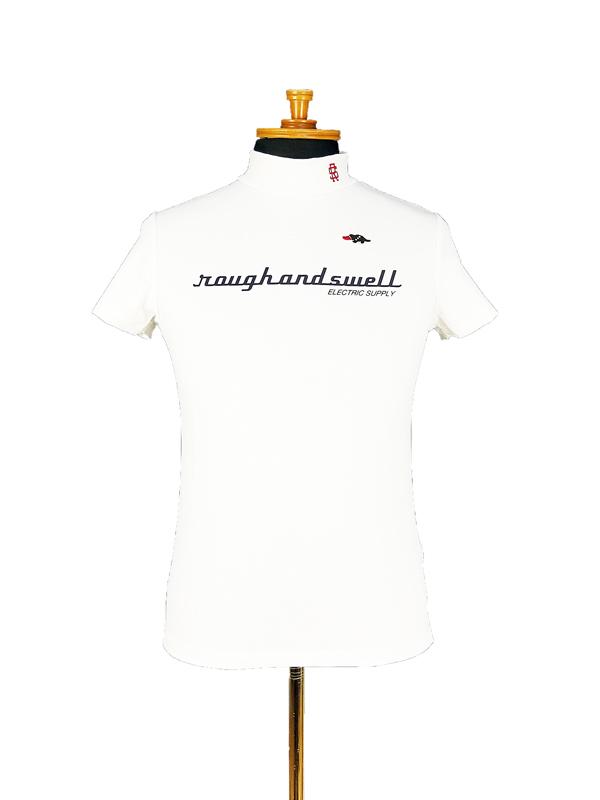 【WOMEN】 rough&swell for WOMEN ラフアンドスウェル ウィメン ERECTRIC MOCK W. ポロシャツ ホワイト RSL-21015 / ゴルフウェア レディース ラフ&スウェル