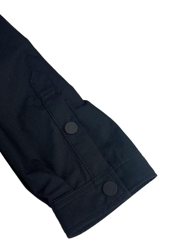 White Mountaineering ホワイトマウンテニアリング VEST SHIRT ベストシャツ ブラック WM2071101 / ブルゾン