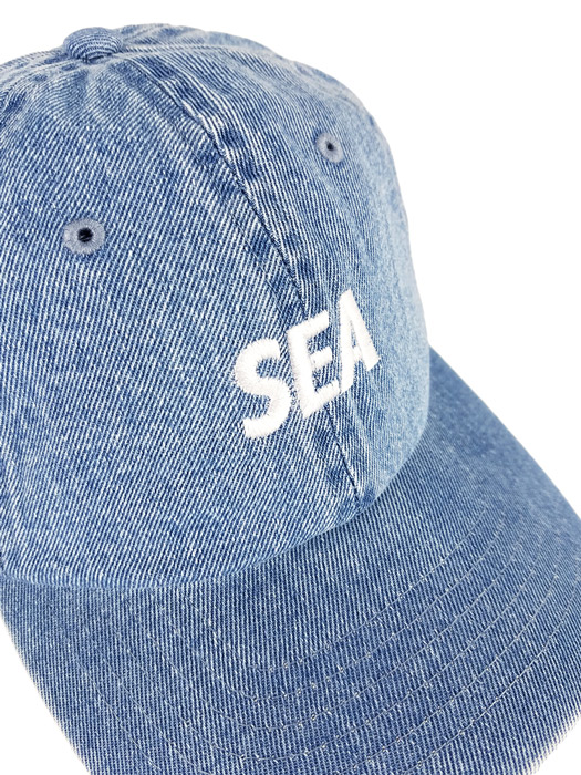 WIND AND SEA ウィンダンシー キャップ ブルー SEA DENIM CAP WDS-20S-GD-01