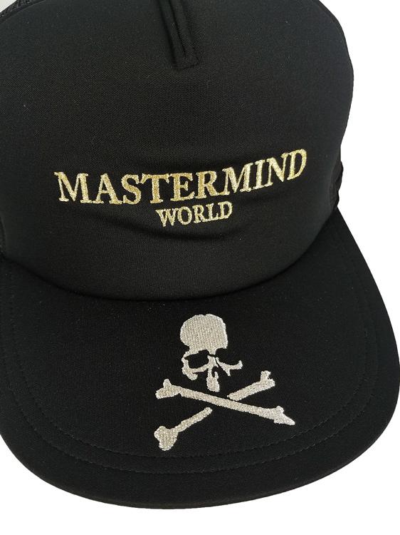 MASTERMIND WORLD マスターマインド ワールド MW21S06-CA001 ブラック