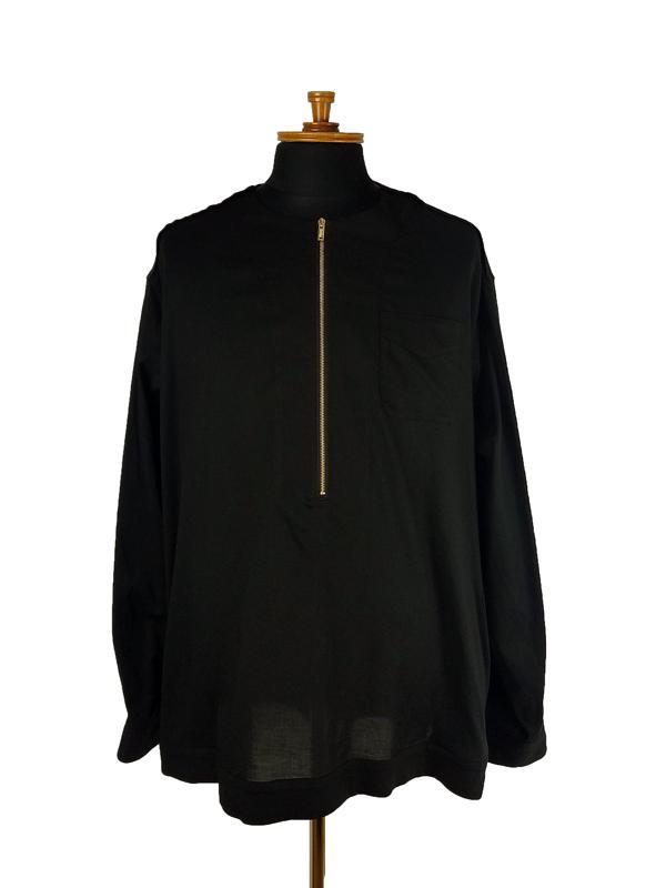 UNDERCOVER アンダーカバー Cビエラファスナー開POシャツ ブラック UC1A4409