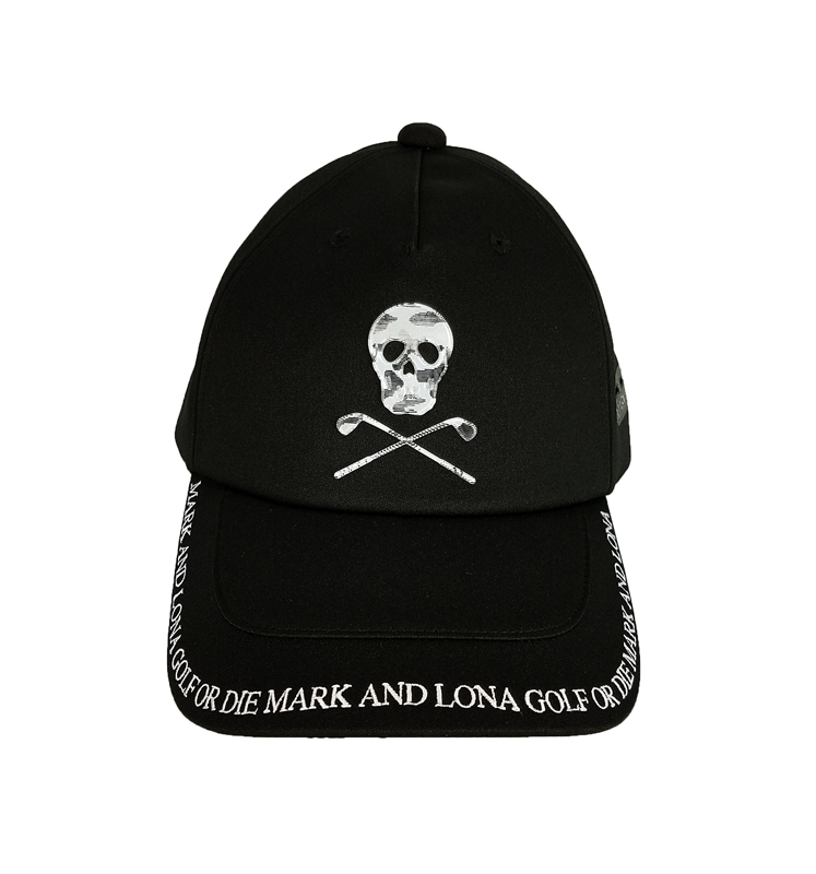 MARK&LONA マークアンドロナ Infectious 5 Panel Cap   MEN and WOMEN キャップ ブラック MLF-1C-FC01