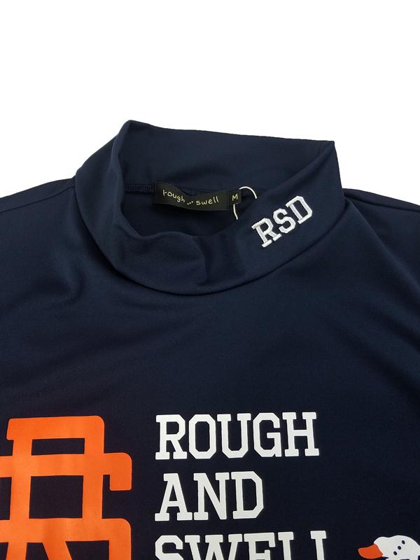 rough&swell ラフアンドスウェル BIG RS MOCK モックネック ネイビー RSM-21050 / ゴルフウェア メンズ ラフ&スウェル