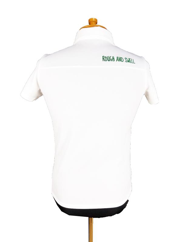 【WOMEN】 rough&swell for WOMEN ラフアンドスウェル ウィメン PARADIS POLO W. ポロシャツ ホワイト RSL-21003 / ゴルフウェア レディース ラフ&スウェル
