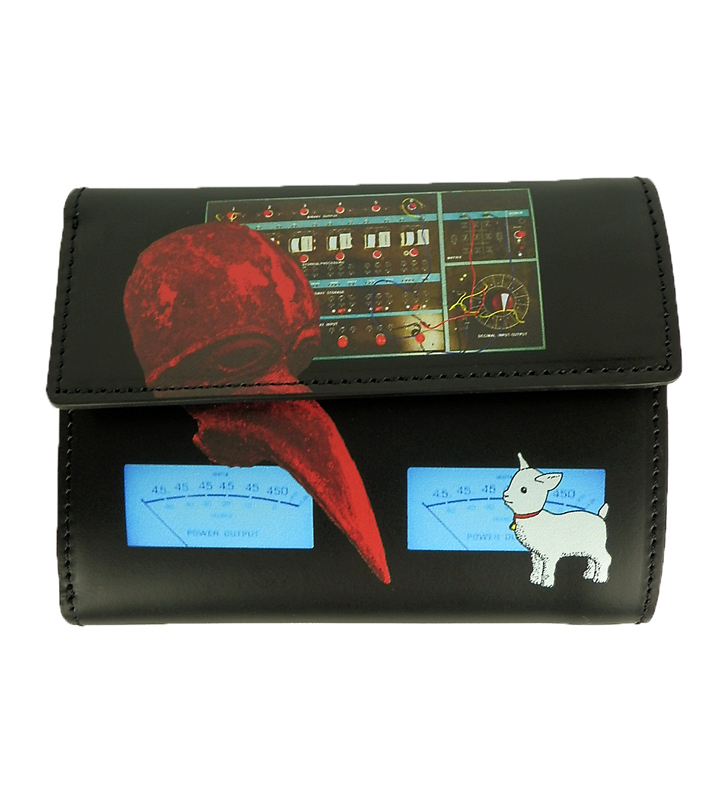 UNDERCOVER アンダーカバー 3ツ折財布 MASK ブラック UC1A4C02-4