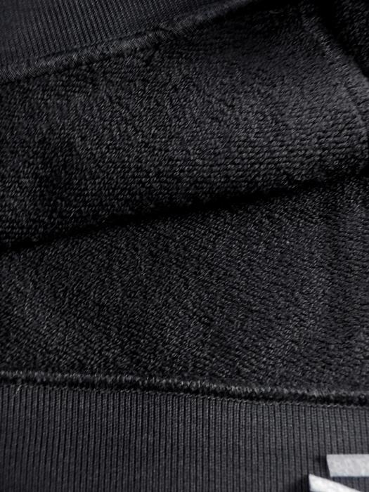 mastermind JAPAN マスターマインドジャパン パーカー 裏毛 レギュラーフィット サガラ刺繍風プリント ブラック MJ19E03-SW084-006