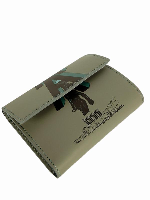 UNDERCOVER アンダーカバー 3ツ折財布 A グレー UC1A4C02-2