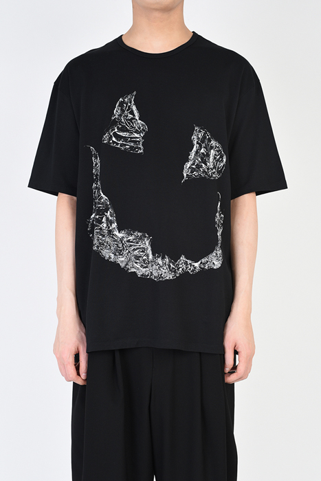 LAD MUSICIAN ラッドミュージシャン プリントビッグTシャツ ブラック BIG T-SHIRT 2319-803