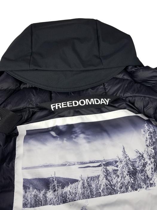 FREEDOMDAY フリーダムデイ ダウンジャケット ブラック WISTLER 920241124002 / ダウン