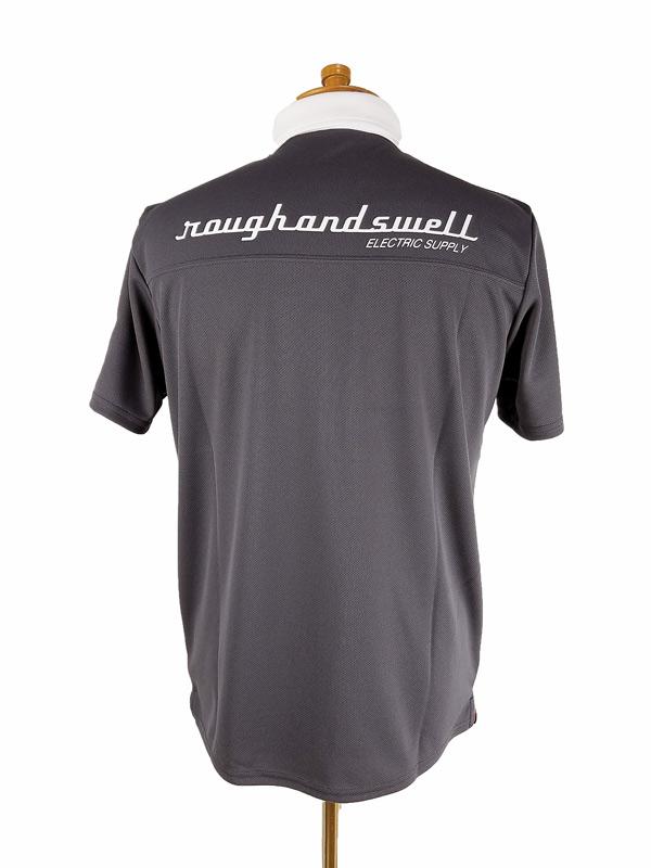 rough&swell ラフアンドスウェル JASON POLO ポロシャツ チャコール RSM-21009 / ゴルフウェア メンズ ラフ&スウェル